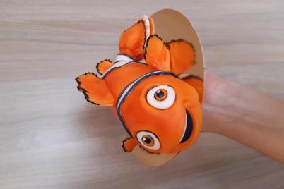 Rybička Nemo  - foto postup