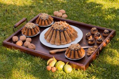 Ořechová bábovka - recept