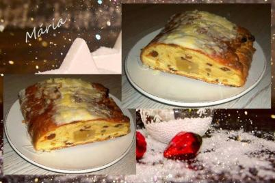 Vianočná štóla s marcipánom... - recept