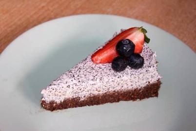 Nepečená maková torta bez cukru - recept