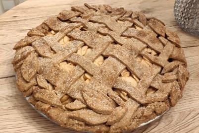 Špaldový jablkový koláč - recept
