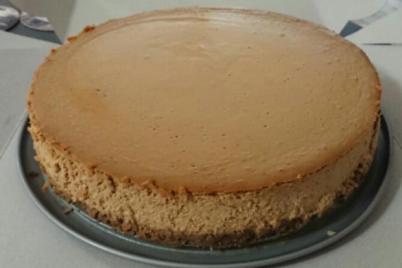 Banánovo karamelový cheesecake - recept