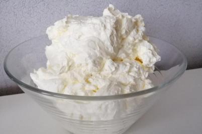 Bielkový krém - recept