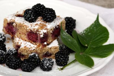 Černicovo mandľový koláč - recept