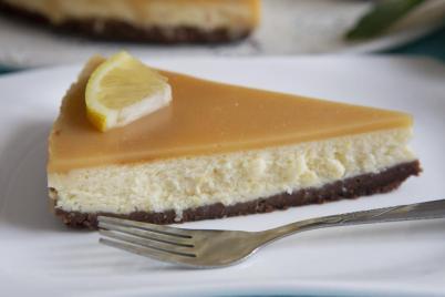 Citrónový cheesecake - recept