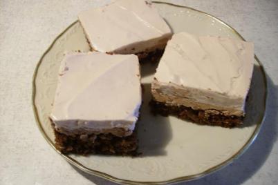 Čokoládovo-jogurtové rezy - recept