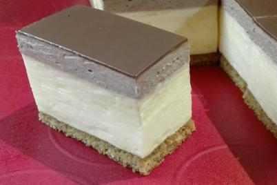 Čokoládová kremeška - recept