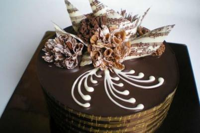 Torta samá čokoláda - recept