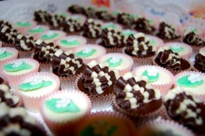 Čokoládové košíčky - recept