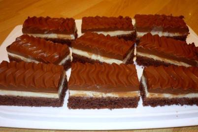 Čokoládové rezy s nutelou a mascarpone - recept