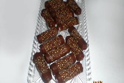 Čokoládové trubičky plnené parížskym krémom - recept