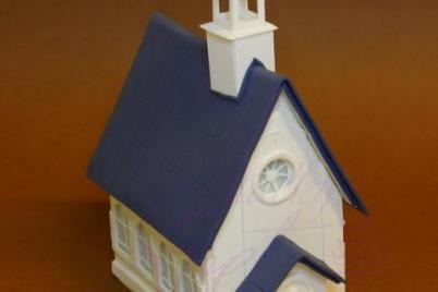 Sladký kostolík - foto postup