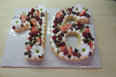 Torta v tvare čísla s fotopostupom - recept