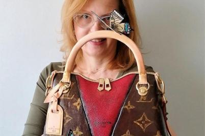 kabelka Louis Vuitton - foto postup