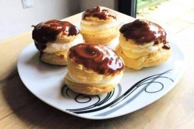 Karamelove veterniky  - recept
