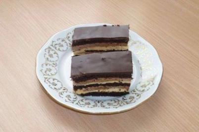Karamelovo čokoládový rez - recept
