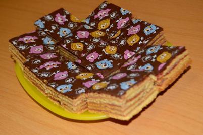Kolacik s cerstvym ovocim - foto postup