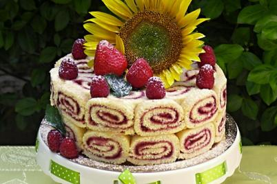 Letná torta - recept