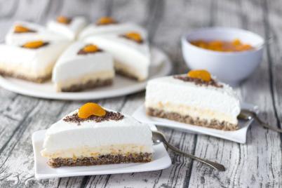 Mandarinkové řezy - recept