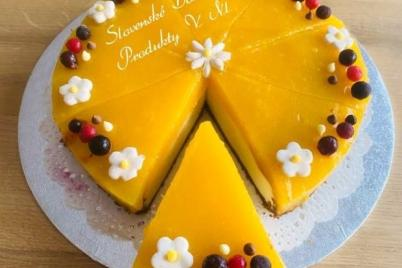 Mango cheesecake  - recept