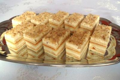 Medové rezy - recept