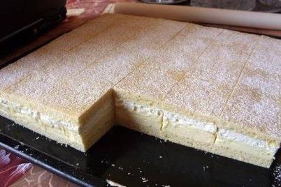 Medový krémeš - recept