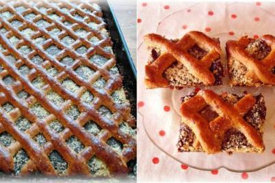 Medový mrežovník - recept