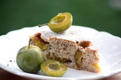 Mirabelkový koláč - recept