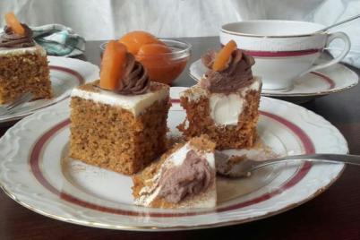 Mrkvová torta pečená v ZILA tortovej forme - recept