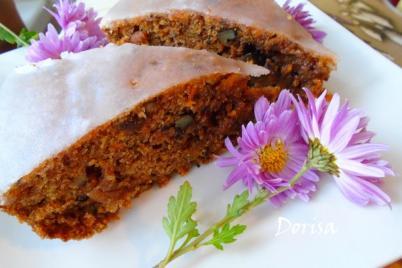 Mrkvový koláč - recept