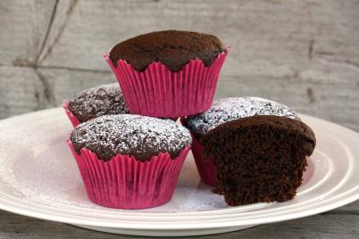 Čokoládové muffiny s cviklou - recept