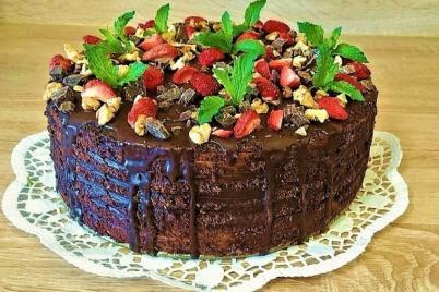 Orechovo-kakaová torta - recept