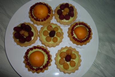 ovocné tartaletky  - recept
