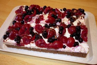 Bleskový ovocný koláč - recept