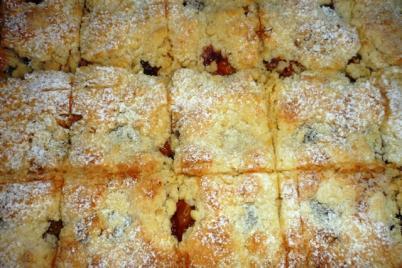 Slivkový koláč - recept
