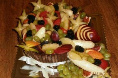 Ovocná torta - foto postup