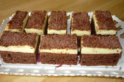 Perník s vanilkovým krémom - recept