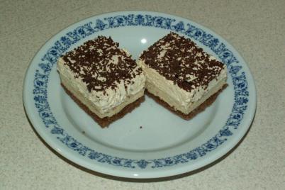 Gaštanový rez - recept