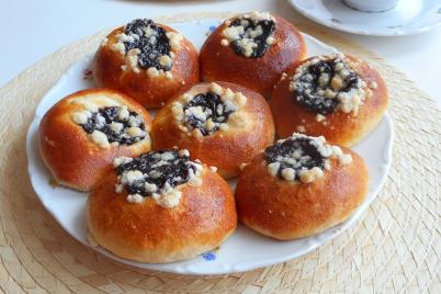 Hanácke koláčiky - foto postup