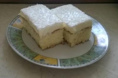 Bezlepkové rafaello rezy - recept