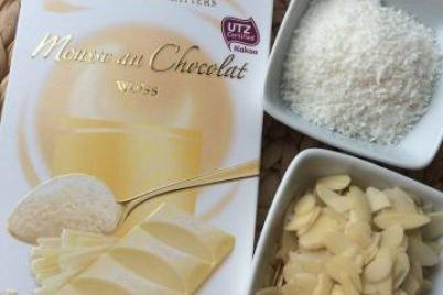 """Raffaello"" krem z bielej cokolady - recept"