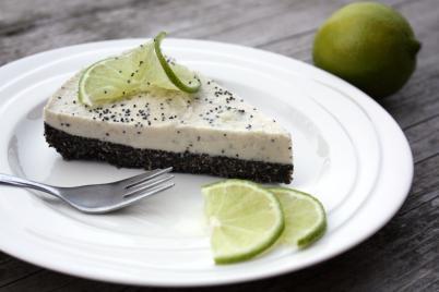 Makovo limetková RAW torta - recept