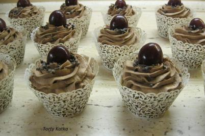 Orechové cupcakes - recept