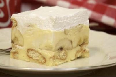 Nepečený banánový koláč - recept