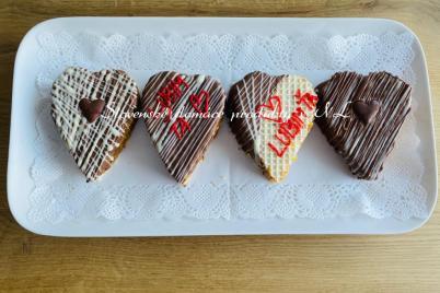 Valentínske srdiečka  - recept