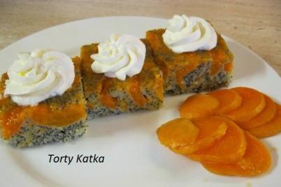 Makovo-marhuľový koláč - recept