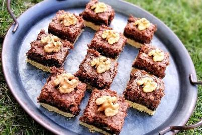 Mamin orechový koláč - recept