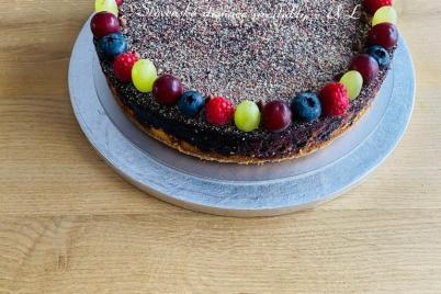 Čučoriedkový cheesecake  - recept