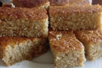 Hrnčekový koláč s detskou krupicou - recept