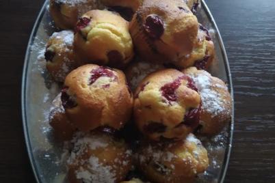 Čerešňové hrnčekové muffiny - recept